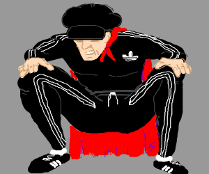 Slav Super hero: Adidas Boy