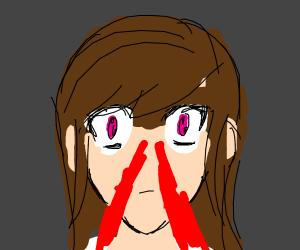 anime nosebleed