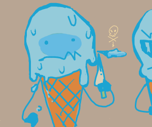Ice cream responsible for murder