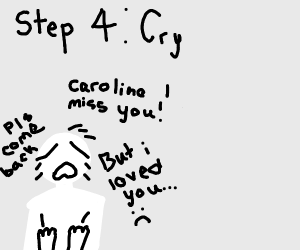 Step 2. Text Caroline