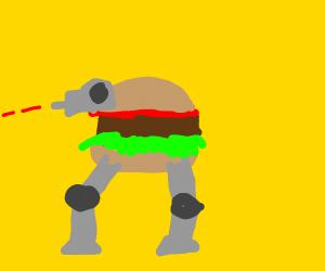 AT-AT but a burger