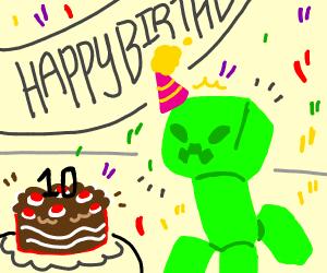 Happy 10th Birthday Minecraft!