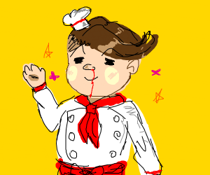 Danganronpa 2 Chef