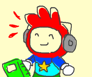 Maxwell from Scribblenauts