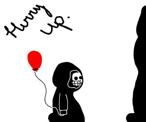 Grim Reaper's slow son