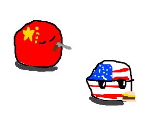 China doesn't like EEUU unu