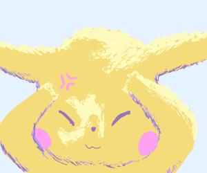 Annoyed Pikachu