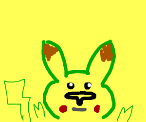 Big nose Pikachu