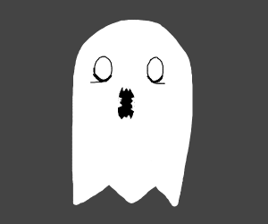 an unsettling ghost