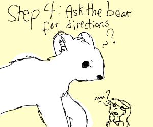Step 3: spot a bear on the prowl
