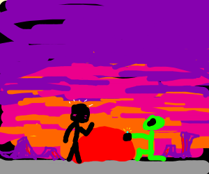 alien confesses to someone at area 51