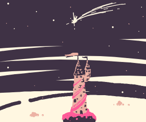 Pink Space Spire