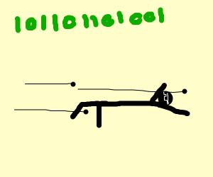 Matrix bullet dodge