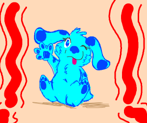 Blue from blues clues