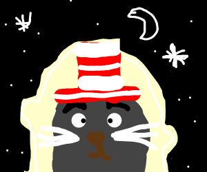 Cat in the Hat Astronaut