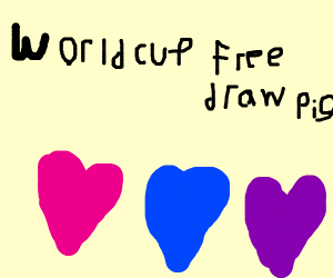 World cup freedraw >PIO<