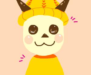 pikachu as a mii