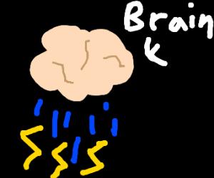 A literal brainstorm