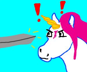 Unicorn in a Battle