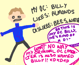 My original character is also named Billy