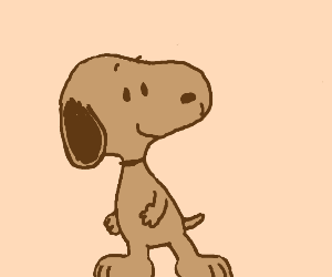 Brown snoopy
