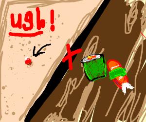 Sushi pimple