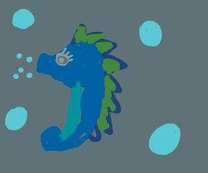 kawaii water creature