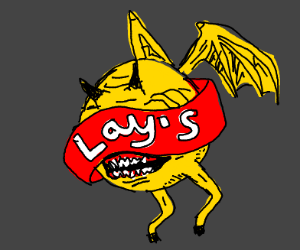 the Lays monster