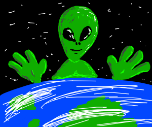green aliens are superior to all things