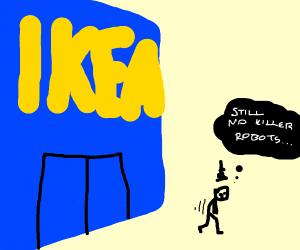 Frustrated, I Leave IKEA