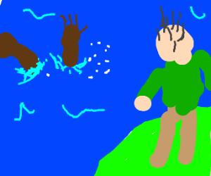 my black friend is drowning
