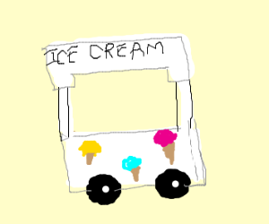 An Ice Cream Stand
