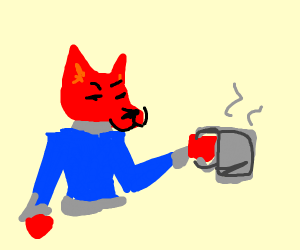 A red fox just got hired.