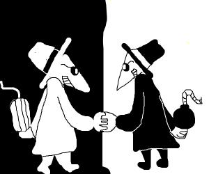 Spy vs. Spy (Mad Magazine Comic)