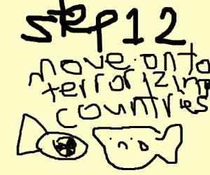Step 11: terrorize kids in Darry