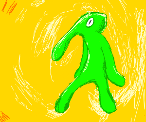 bold and brash, but it's very green