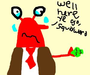 mr.krabs on payday