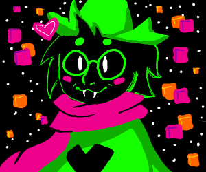 ralsei wearing timbs