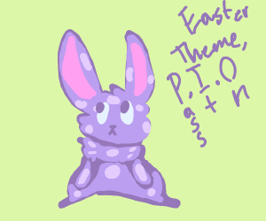 Easter themed P.I.O.