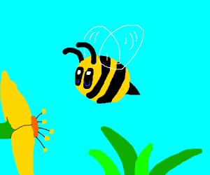 simplistic bee