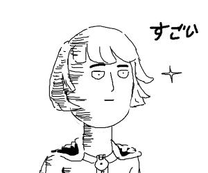 Saitama (One Punch Man) finally grows hair