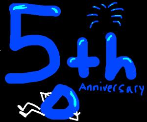 5th Anniversary