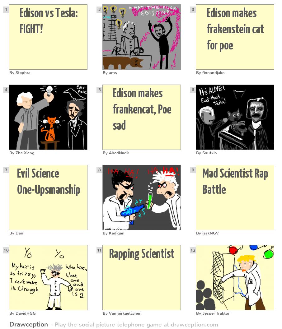 Tesla vs. Edison: Duel by Artana LLC — Kickstarter