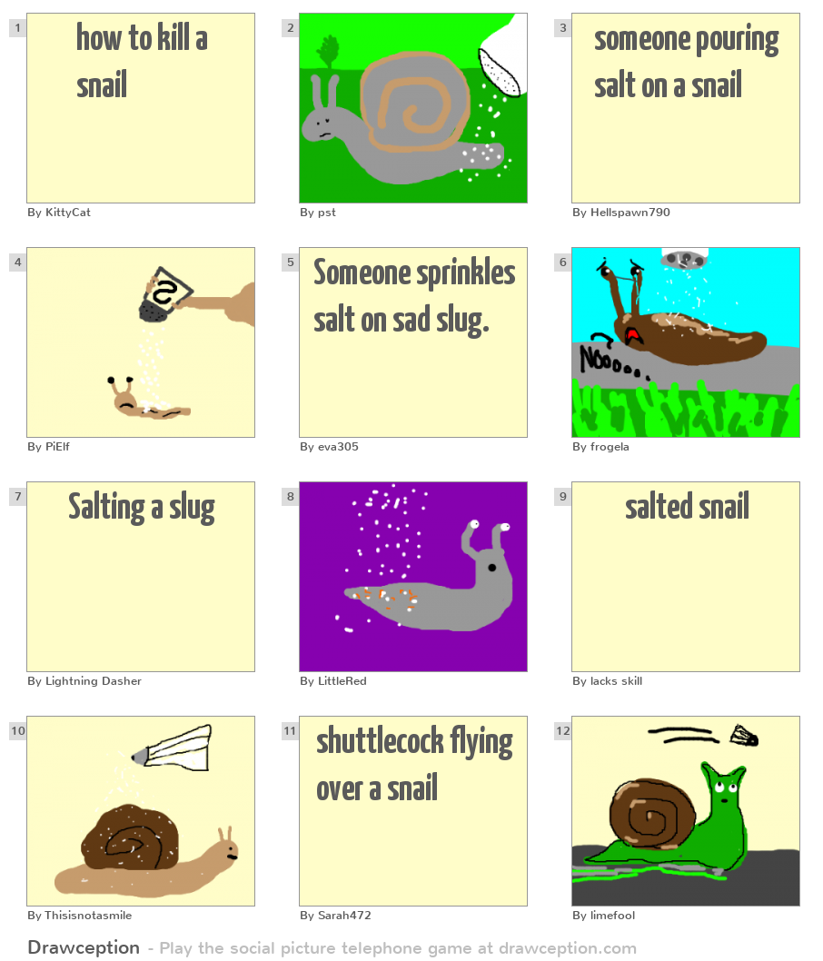 How To Kill A Snail