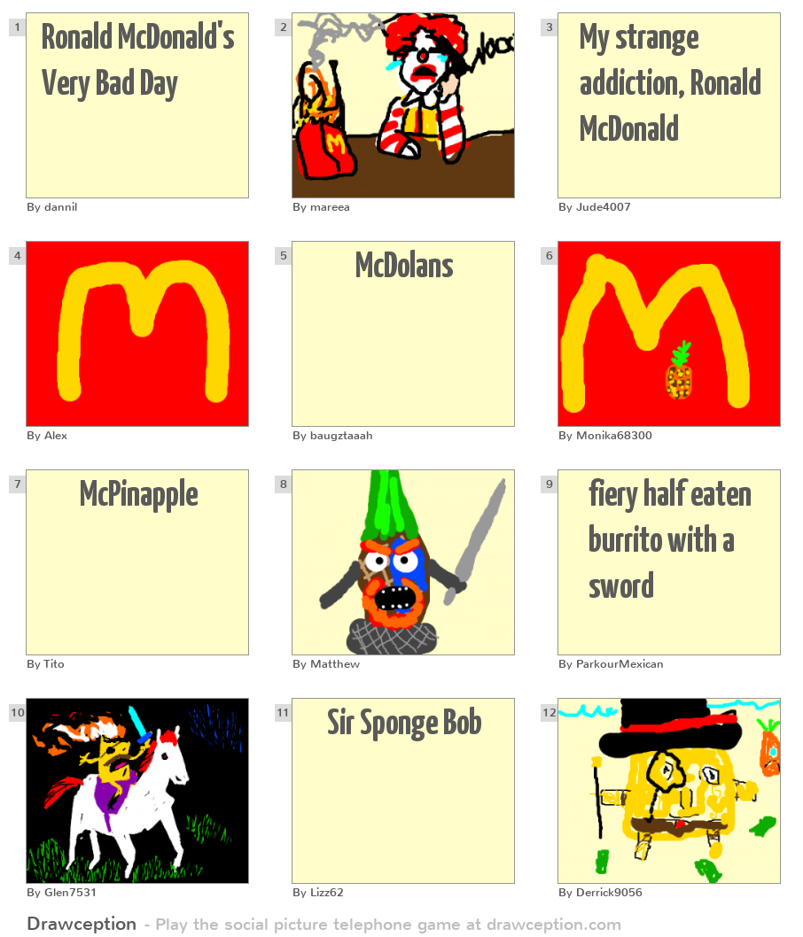 mcdonald s a good image with bad A picture of a mcdonald's happy meal, apparently made in 2010, has  is it a  desire to prove that mcdonald's food is bad for your insides.