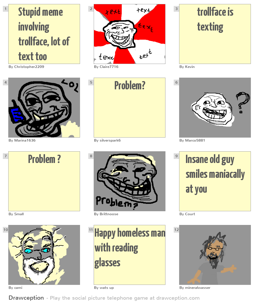 Stupid Meme Involving Trollface, Lot Of Text Too