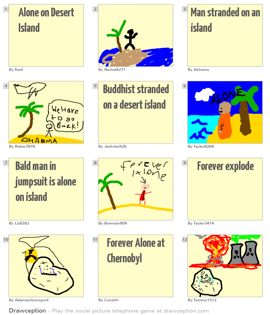 deserted island game Your desert island games topic of the week: desert island games are we allowed to have an internet connection on this deserted island.