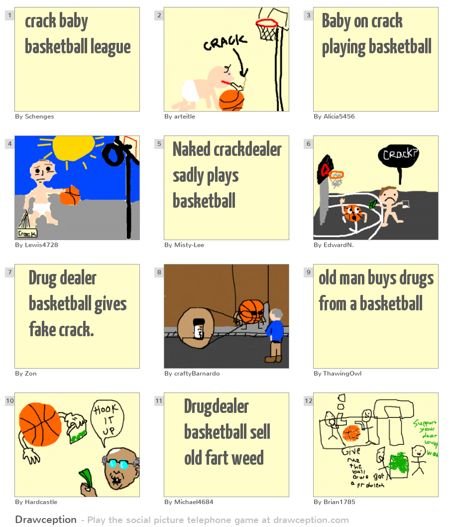 what is crack baby basketball making fun of