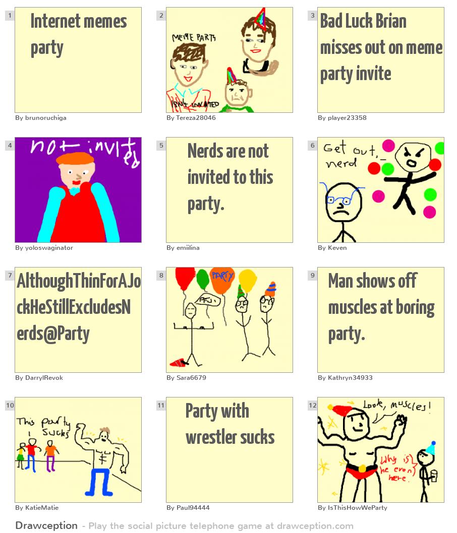 Internet Memes Party