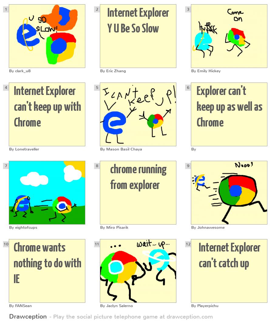 Internet Explorer Y U ...